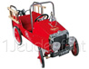 BAGHERA [The Sublimes] - FIREMAN red pedal truck ref 1938FE