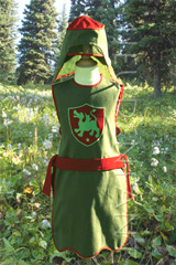 Clothes of Knight for partying, Child Costume