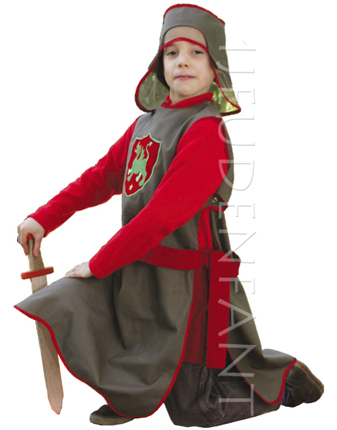 KNIGHT costume for kid - scene  sc 1 th 254 & Clothes of King for partying Child Costume