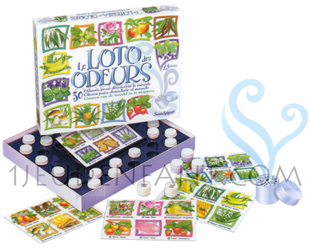 The Odours Loto Game - educational game