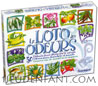 Loto of the Odours - educational game to discover the odours and develop smell  multilingual version: french, spanish, deutch, dutch
