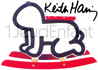 Bascule blanche baby, artiste: KEITH HARING