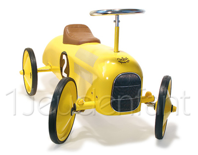 VILAC The Speedsters, Speedster yellow Car 1051